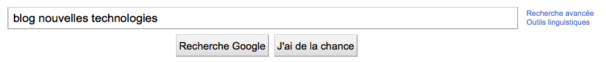 La page d'accueil de Google ainsi que celle de Facebook change ! - Suppression du bouton J'ai de la chance