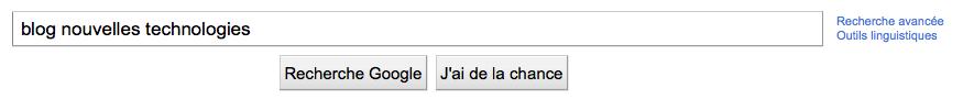 La page d'accueil de Google ainsi que celle de Facebook change ! - Suppression du bouton J'ai de la chance