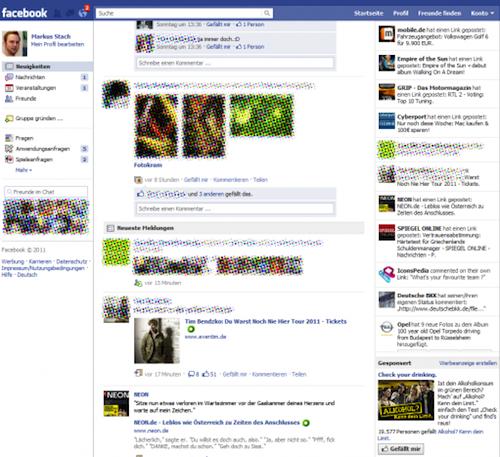 La page d'accueil de Google ainsi que celle de Facebook change ! - Nouvelle page d'accueil Facebook