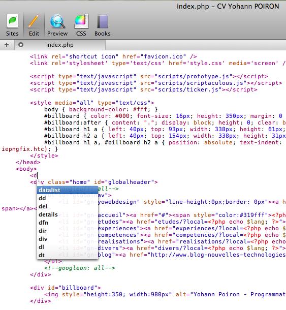 Les raisons de choisir Coda comme environnement de développement - Éditeur de code