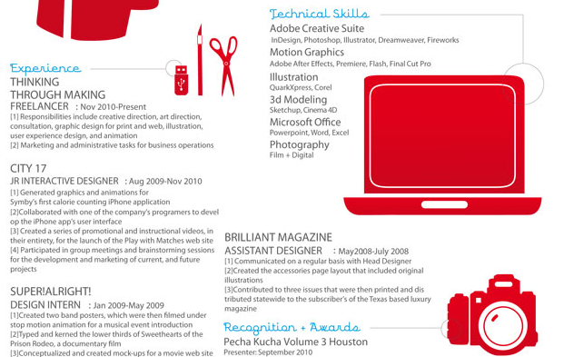 trois raisons pour lesquelles vous devriez avoir un cv infographie