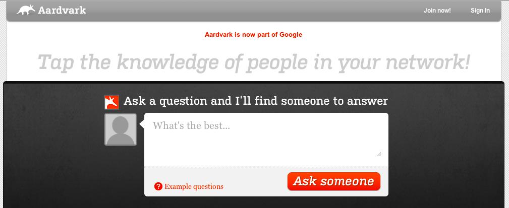 Allons-nous avoir les services Google Blogs et Google Photos dans Google+ ? - Aardvark