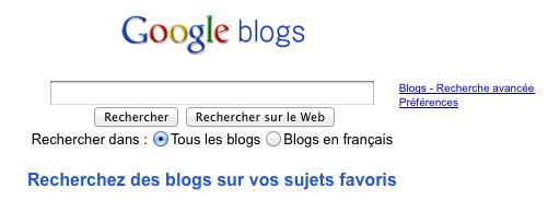 Allons-nous avoir les services Google Blogs et Google Photos dans Google+ ? - Google Blog Search