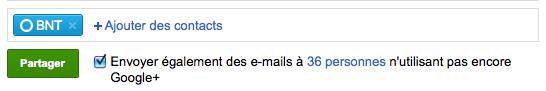 Débuter avec Google+, voici votre guide complet - Envoi notifications Google+