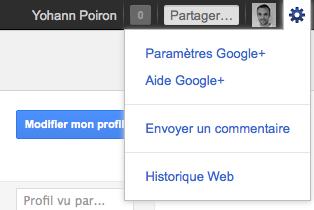 Débuter avec Google+, voici votre guide complet - Réglages Google+
