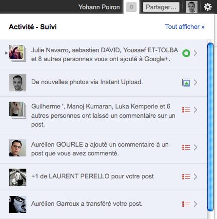 Débuter avec Google+, voici votre guide complet - Notifications Google+