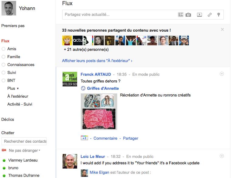 Débuter avec Google+, voici votre guide complet - Flux Google+