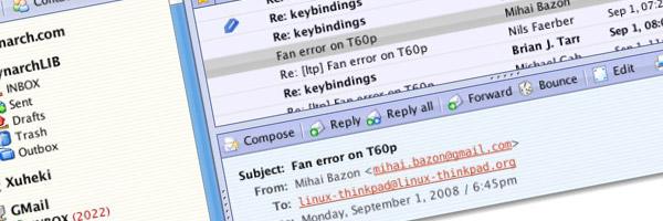 Des webmails basés sur l'AJAX et PHP afin d'améliorer l'expérience utilisateur - Grand format sur Zimbra - Xuheki