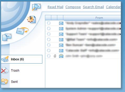 Des webmails basés sur l'AJAX et PHP afin d'améliorer l'expérience utilisateur - Grand format sur Zimbra - AtMail