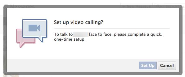 Facebook dévoile son chat vidéo à l'aide de Skype !