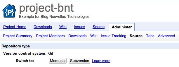 Google Code annonce son support à Git - Migration d'un projet Google Code de SVN vers Git