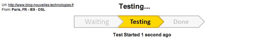 Google lance Page Speed Service, voilà de quoi optimiser votre site Web ! - Démarrage de Page Speed Service - Test