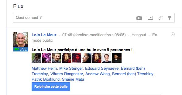 Google+ vs. Facebook : Quel réseau social va gagner ? - Bulle dans Google+