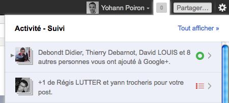 Google+ vs. Facebook : Quel réseau social va gagner ? - Notifications Google+