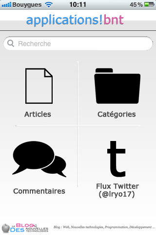 Le Blog des Nouvelles Technologies a-t-il besoin d'une application Web Mobile ?