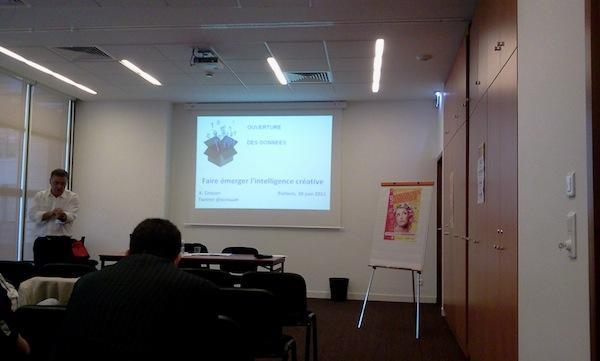 Mon retour sur les troisièmes Rencontres Nationales du Numérique à Poitiers - Atelier X. Crouan