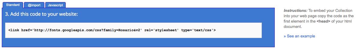 Utiliser Google Web Fonts sur votre ordinateur ou votre site Web - Procédures d'intégration