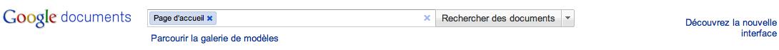 Au tour de Google Docs d'adopter la nouvelle interface de Google - Découvrez la nouvelle interface