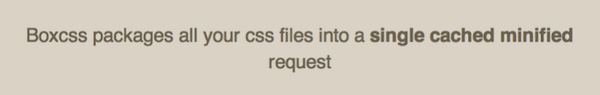BoxCSS, compressez vos feuilles de style - Présentation