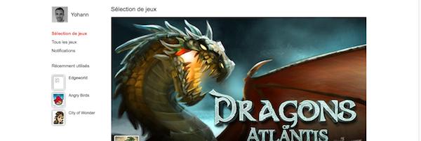 Découvrez Google Games, l'étoffe d'un champion ? - Page d'accueil des jeux Google+