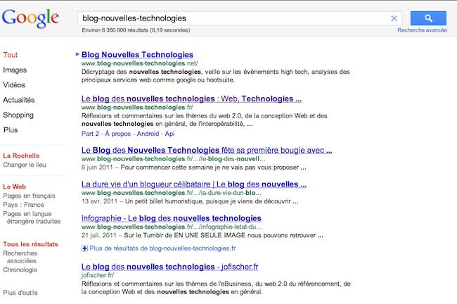 Google teste une interface épurée avec une nouvelle prévisualisation des sites - Suppression des icônes dans les résultats de recherche Google