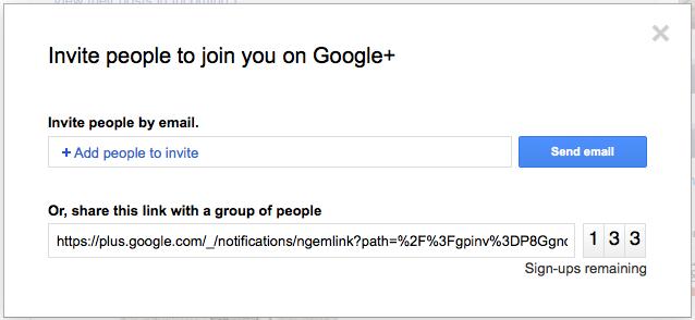 Google+ vous indique qui a accepté de devenir votre ami - Invitations
