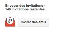 Invitations pour Google Music