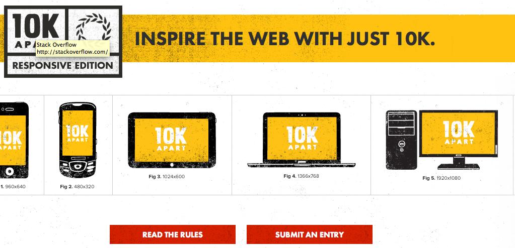 Les acteurs du Web en ont parlé [#6] - Inspire the Web with Just 10k