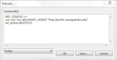 Prefixr, rendez compatible votre CSS sur tous les navigateurs ! - Intégration de Notepad++