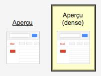 Utiliser les boutons de Google pour améliorer votre interface utilisateur ! - Paramètres GMail - Thème Aperçu