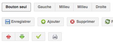 Utiliser les boutons de Google pour améliorer votre interface utilisateur ! - Boutons BNT