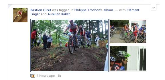 Facebook change l'affichage de vos publications depuis le fil d'actualité - Nouvel affichage des photos
