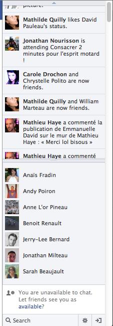 Facebook change l'affichage de vos publications depuis le fil d'actualité - Flux temps réel