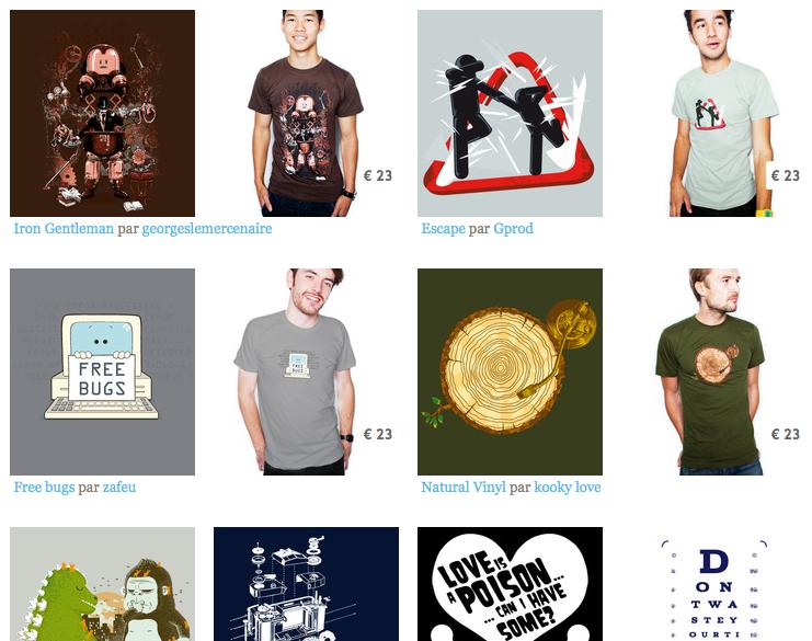 Concours : laFraise s'associe au BlogNT pour vous offrir des tee-shirts ! - Tee-shirts laFraise
