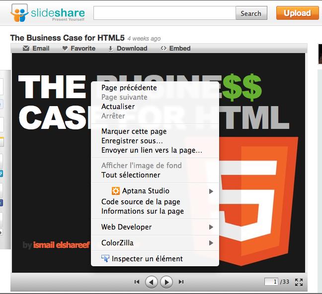 SlideShare laisse tomber le Flash, pour reconstruire entièrement son site en HTML5 - Diaporama SlideShare en HTML5
