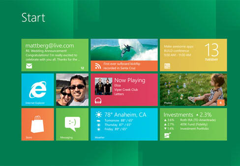 Windows 8 : Mes premières impressions sur IE10 - Interface Windows 8