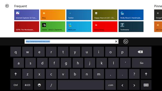Windows 8 : Mes premières impressions sur IE10 - Tactile IE10