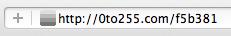 0to255, trouvez des variantes de vos couleurs - Format URL