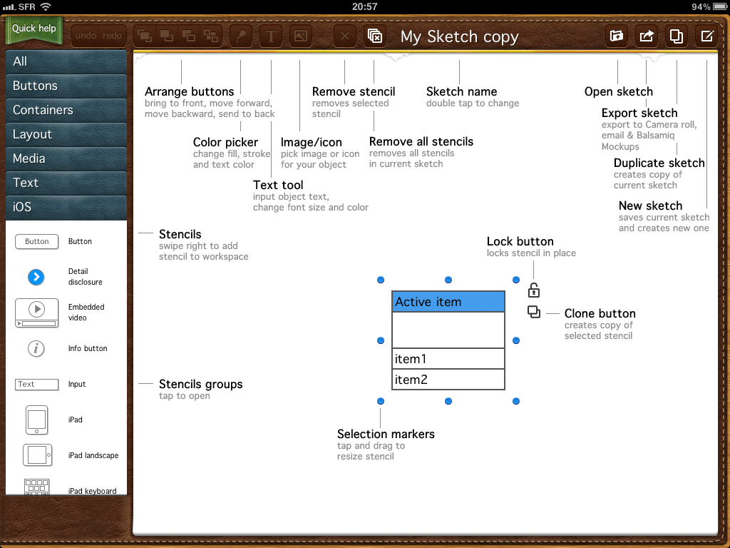 Administrer, éditer et développer ses sites depuis l'iPad - Sketchypad