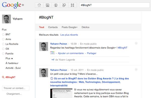 Comment utiliser les hashtags dans Google+ - Recherche du hashtag dans Google+