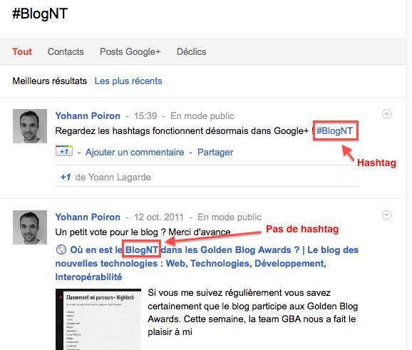 Comment utiliser les hashtags dans Google+ - Recherche à partir du hashtag sauvegardé dans Google+