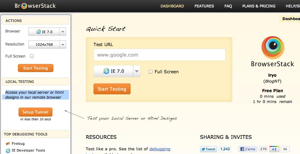 Découvrez BrowserStack.com, un outil formidable pour tester votre site Web efficacement