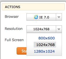Découvrez BrowserStack.com, un outil formidable pour tester votre site Web efficacement - Résolutions d'écran