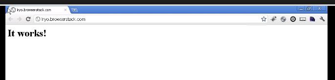 Découvrez BrowserStack.com, un outil formidable pour tester votre site Web efficacement - Test site local