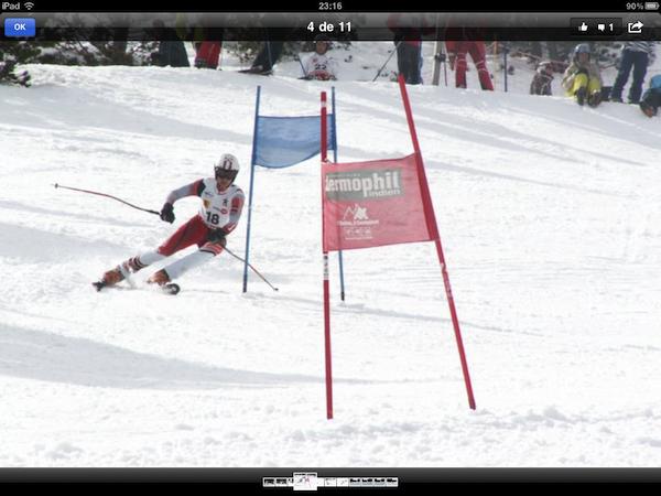 Facebook est disponible sur l'iPad - Navigation photos
