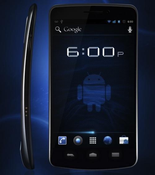 Google dévoile Android 4.0, et Samsung le Nexus Galaxy ! - Samsung Nexus Galaxy