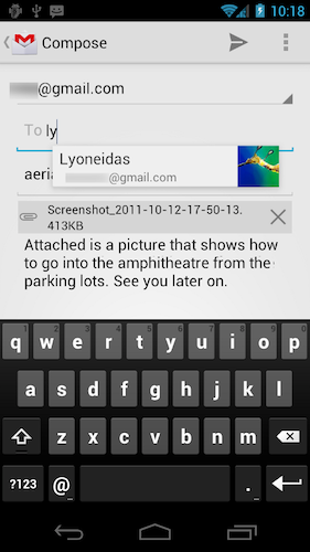 Google dévoile Android 4.0, et Samsung le Nexus Galaxy ! - Nouvelle interface Gmail