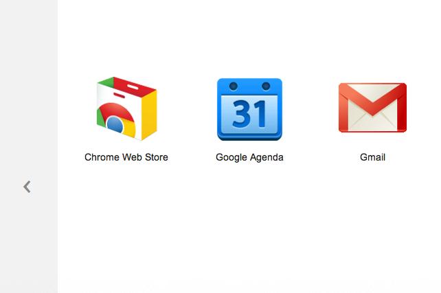 Google modifie son Store et redessine sa page d'accueil des onglets - Navigation entre les onglets