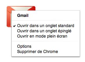 Google modifie son Store et redessine sa page d'accueil des onglets - Options sur une application
