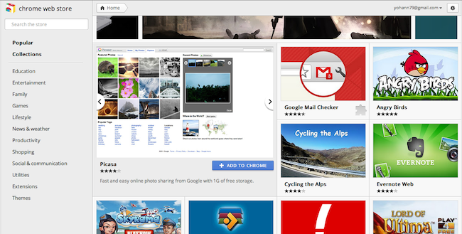 Google modifie son Store et redessine sa page d'accueil des onglets - Survol d'une application